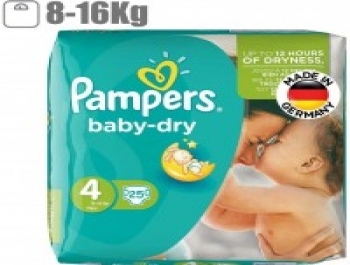Pampers Baby Dry Size 4 Diaper Pack