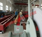 Window shutter rollforming machine